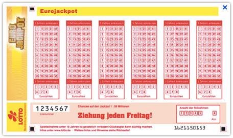 Eurojackpot am 29.11.2019