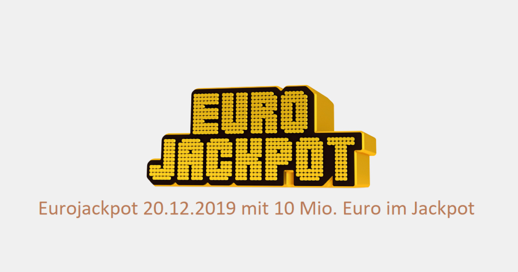 Eurojackpot 20.12.2019