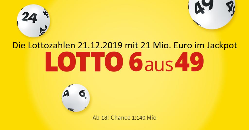 Lotto 21.12.2019