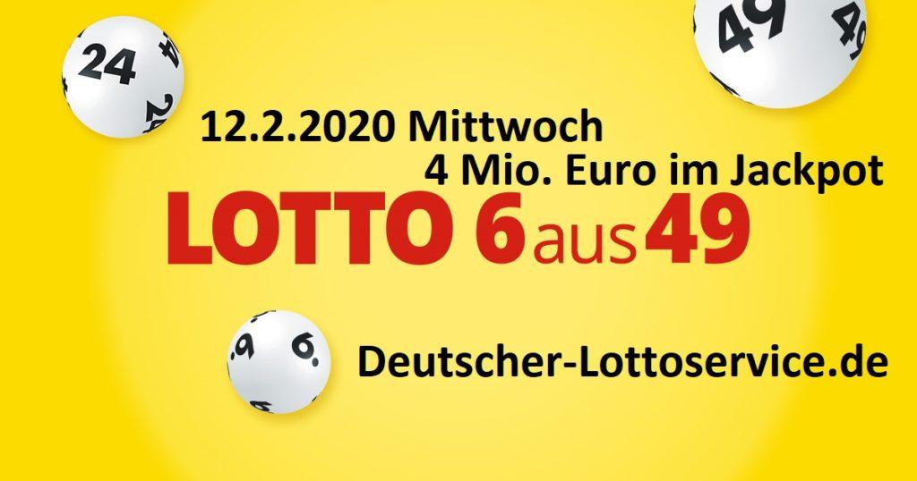 Lottozahlen 12.2.2020